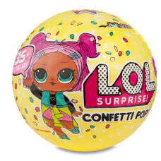 Кукла Lol Surprise Confetti Pop 3-я серия 1 волна (551522/551515)