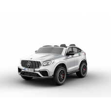 Двухместный электромобиль Barty Mercedes-AMG GLC 63 S Coupe (Лицензия) Белый