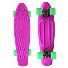 """Скейтборд 22"""" TLS-401 Classic розовый"""