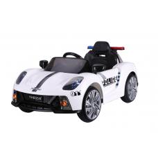 Детский электромобиль Barty Porsche 911 Police Б005OС Белый