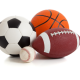 Наборы для игры в футбол, волебол, хоккей, баскетбол, бейсбол, гольф