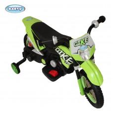 Детский электромотоциклBARTY CROSS YM68 Зеленый