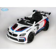 Детский электромобиль Barty BMW M6 GT3 (Лицензия) Белый с черным