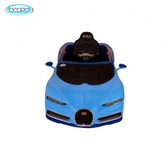 Детский электромобиль Bugatti Chiron HL318 (Лицензия) Синий