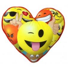 Подушка Imoji в форме сердца (ILANIT, 45004)
