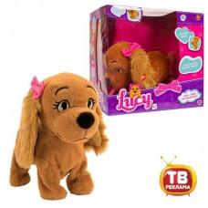 Интерактивная собака Lucy, выполняет 12 команд, коммуницирует с Lola, на батарейках (IMC Toys, 170515)