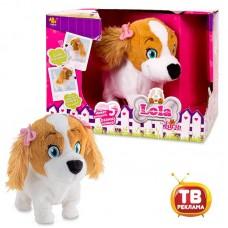 Интерактивная собака Lola (младшая сестра Lucy), выполняет 5 команд, коммуницирует с Lucy, на батарейках (IMC Toys, 170516)