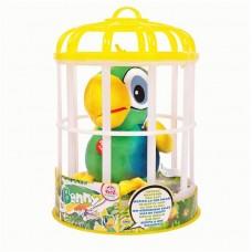 Попугай Benny интерактивный (зеленый), повторяет слова, шевелит клювом, мягконабивной
