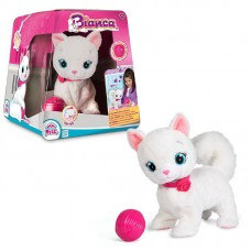 Интерактивная кошка Bianca, в комплекте с клубком, на батарейках (IMC Toys, 95847)