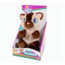 Котенок интерактивный (бежево-коричневый), со звуковыми эффектами, шевелит лапками если почесать животик