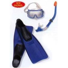"Набор для плавания ""World Sports Set""(маска,трубка,ласты) (от 8лет)"