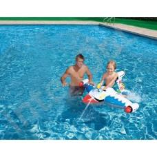 Игры в воде. Звездолет с водяной пушкой, 3+, 147х127см.