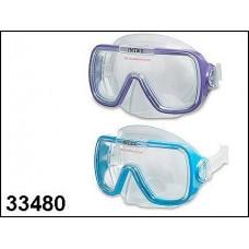 "Маски для плавания ""WAVE RIDER"", от 8 лет, 2 цвета (INTEX, int55976)"