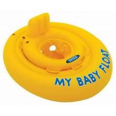 Круг-ходунки, надувной , для детей от года, 76см (INTEX, int56585NP)