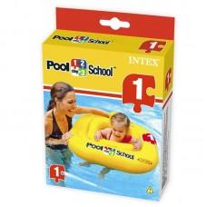 """Плот надувной для детей """"Pool School Deluxe Baby Float"""" с трусами, 79х79см"""