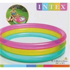 "Бассейн надувной ""Rainbow Baby Pool "" (INTEX, int57104NP)"