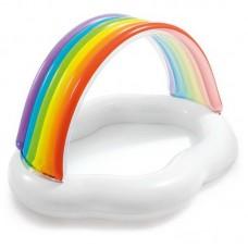"""Бассейн надувной детский """"Rainbow Cloud Baby Pool"""" (1-3 года), 142смx119смx84см"""