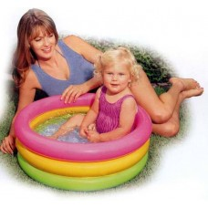 "Бассейн надувной ""Sunset Glow Baby Pool"" 61х22см. (до 3-х лет) (Китай) (INTEX, int57402NP)"