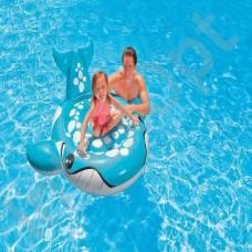 Кит голубой для игр на воде, 160х152см, с 3-х лет (INTEX, int57527NP)