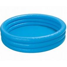 "Бассейн надувной ""Crystal Blue Pool"", голубой цвет (INTEX, int58426NP)"