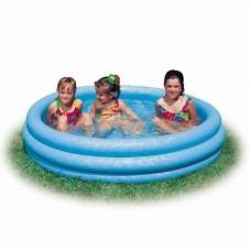 "Бассейн надувной детский ""Crystal Blue Pool"" 168х41см. (от 3-х лет) (Китай)"
