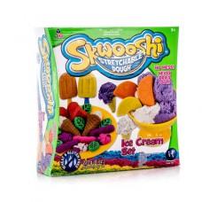 """Набор для творчества Skwooshi """"Мороженое"""" - масса для лепки и аксессуары (Irwin Toy, S30024)"""
