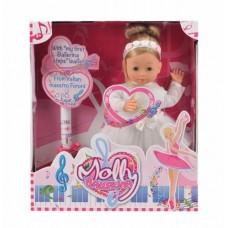 Кукла интерактивная MOLLY балерина 40 см