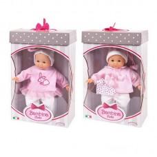 Пупс 36 см, 2 вида в ассортименте, изготовлена из ПВХ, подвижные глаза, кукла имеет приятный ванильный запах, без механизмов, 28,5х13,5х44 см