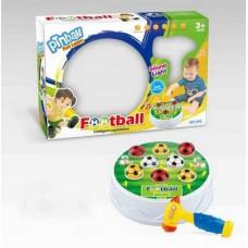 """Игра настольная """"Футбол-стучалка"""", для развития реакции, со звуковыми и световыми эффектами, 2,5х32,5х7"""