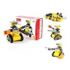 """Машинка-конструктор Собери сам """"Робот"""", в наборе 43 детали, 35х25х11 см"""