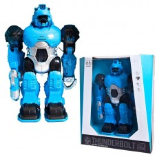 """Робот """"THUNDERBOLT"""" (цвет синий), со световыми и звуковыми эффектами , 24х12х30 см"""