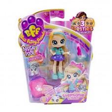 Best Furry Friends Кукла Bestie с питомцем на блистере, 2 серия, Stephanie