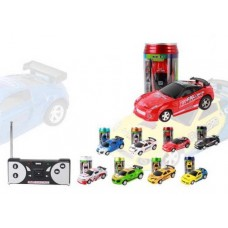 Машинка в пластиковой банке, радиоуправляемая, 12,5х6,6х6,6 см