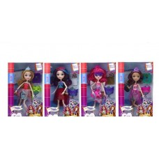 "Кукла ""Kaibibi. Сказочная принцесса: обратно в школу, с аксессуарами, 4 вида в ассортименте, 17,20х6х32 см"