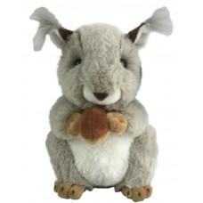 В дикой природе. Бельчонок с орешком, 20 см. игрушка мягкая в подарочном мешочке.