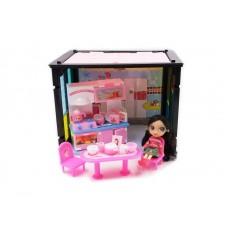 """Дом """"Модный дом"""", в наборе с куклой и мебелью, 50 деталей"""
