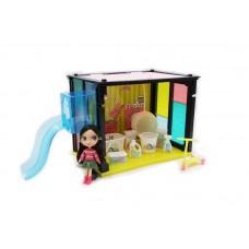 """Дом """"Модный дом"""", в наборе с куклой и мебелью, 35 деталей"""