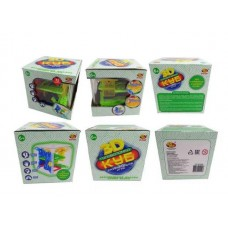 Куб интеллектуальный 3D, 72 барьера, в коробке