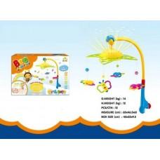 """Игрушка для малышей. Мобиль """"Пчелки"""" звуковые и световые эффекты 45х32х9,5 см"""
