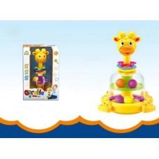 """Игрушка для малышей. Юла """"Жирафик"""", 26х17,5х15 см"""