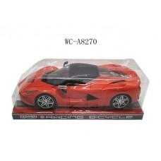 Машина гоночная, инерционная 1:16, в пакете, со световыми и звуковыми эффектами, цвета в ассортименте, 28x13x8.5см