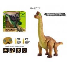 Динозавр Бронтозавр р/у, световые и звуковые эффекты, 34,5х14,8х32,7 см