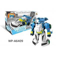 Робот-трансформер, световые и звуковые эффекты, 23,7х11,2х13 см
