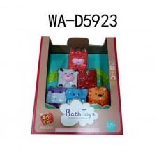 Игрушки для купания: кубики, 21х9х26 см