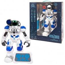 """Робот на р/у """"Пультовод"""", свет, звук, движение, в коробке, 32х15х37 см."""