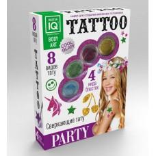 Набор для создания временных татуировок PARTY (КАРРАС, C009)
