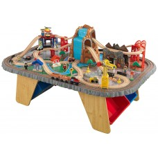 KidKraft Горный тоннель Waterfall Junction Train Set and Table - игровой набор
