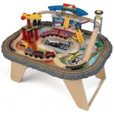 KidKraft Транспортный Хаб Transportation Station - столик с железной дорогой