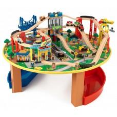 KidKraft со столиком - железная дорога