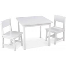 KidKraft Аспен - набор детской мебели белый